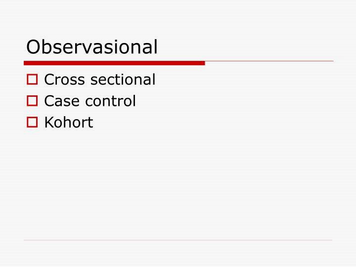 Observasional