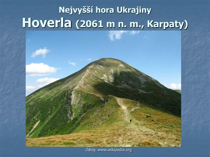 Nejvyšší hora Ukrajiny