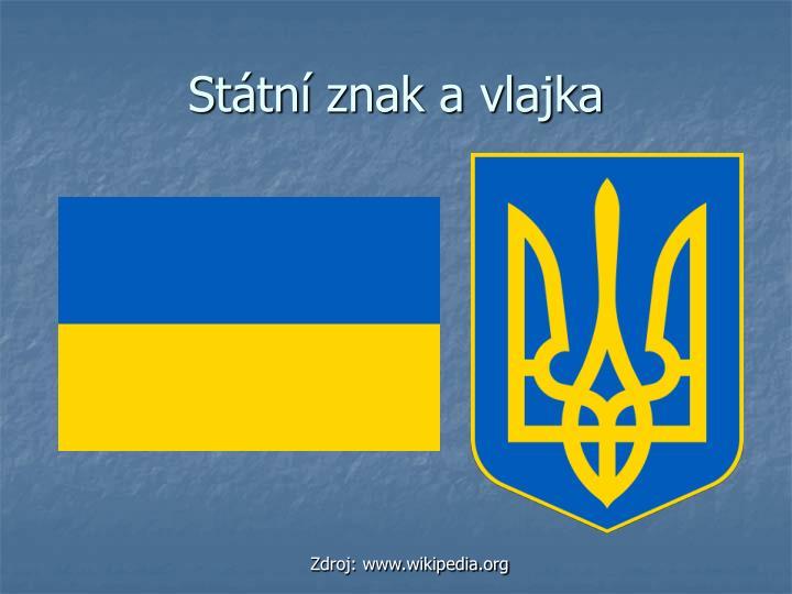 Státní znak a vlajka