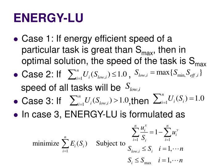 ENERGY-LU