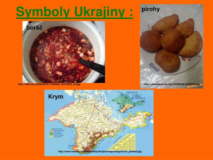 Symboly Ukrajiny :