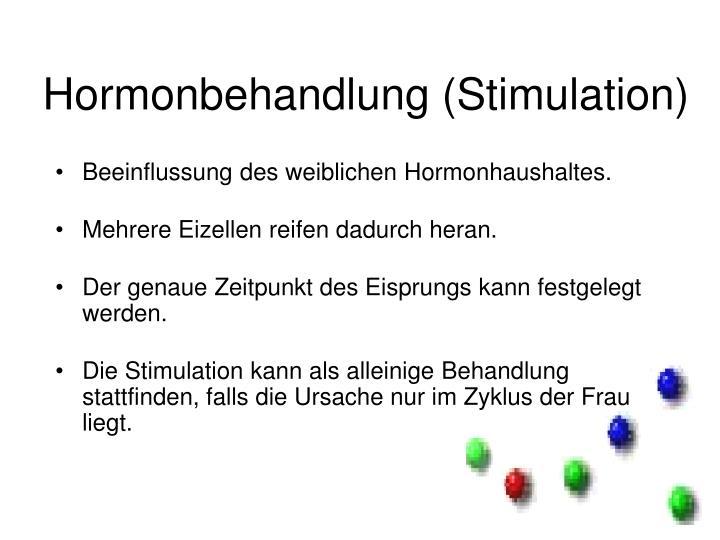 Hormonbehandlung (Stimulation)
