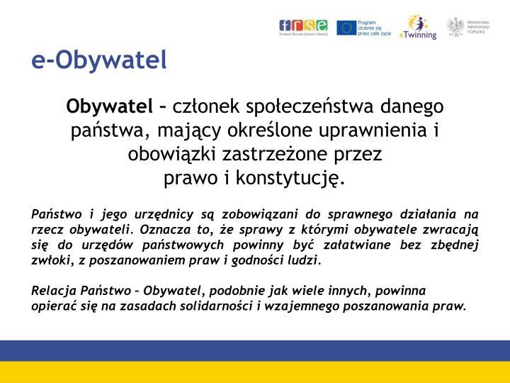 e-Obywatel