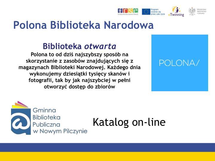 Polona Biblioteka Narodowa
