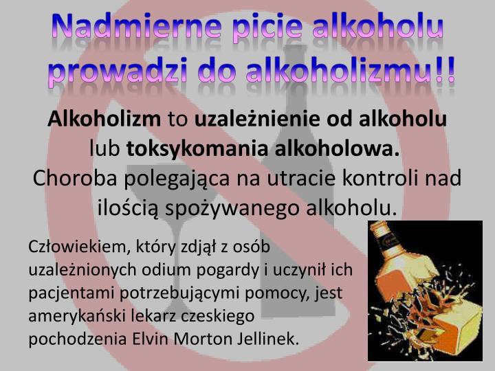 Nadmierne picie alkoholu