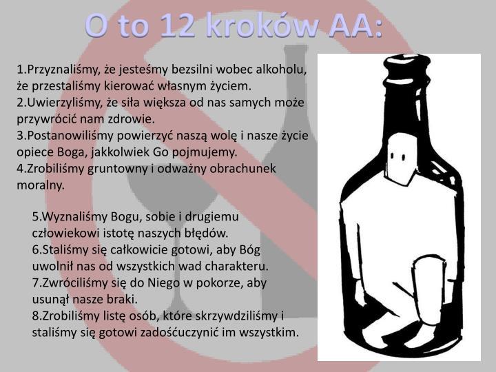 O to 12 kroków AA: