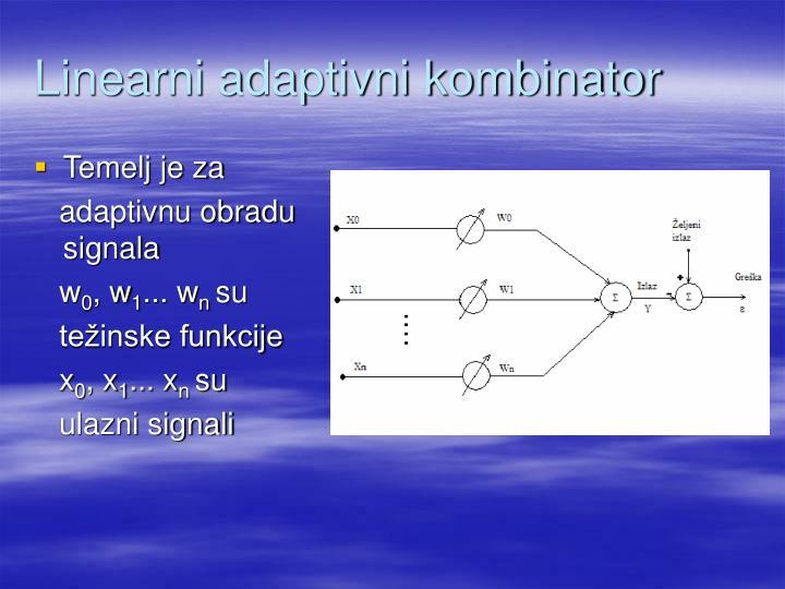 Linearni adaptivni kombinator