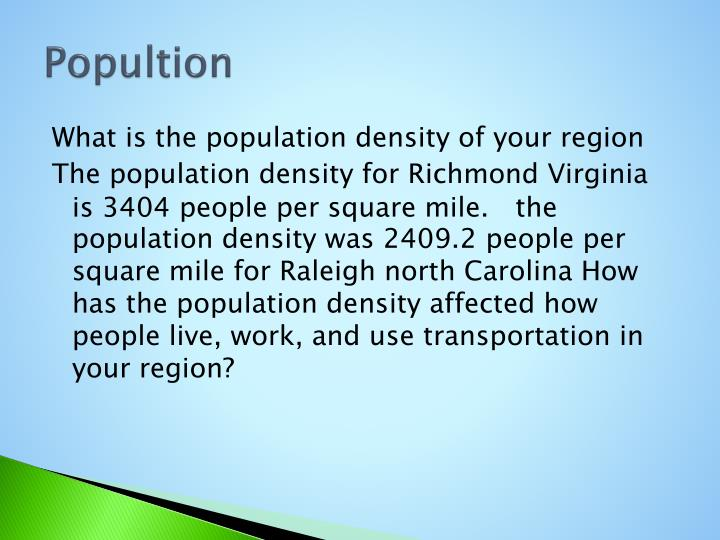 Popultion