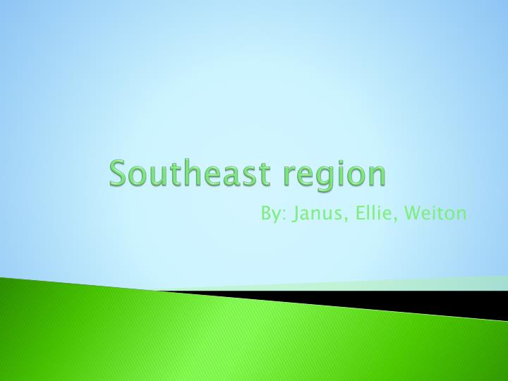 Southeast region