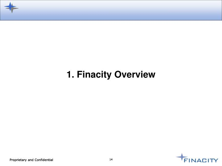 1. Finacity Overview