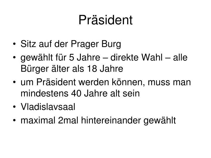 Präsident