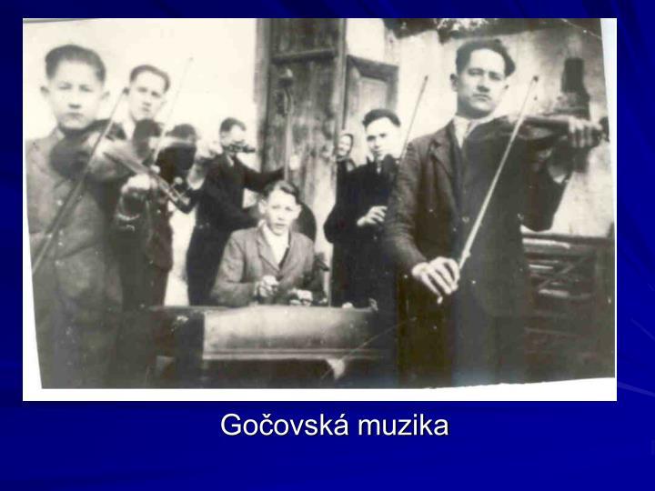 Gočovská muzika
