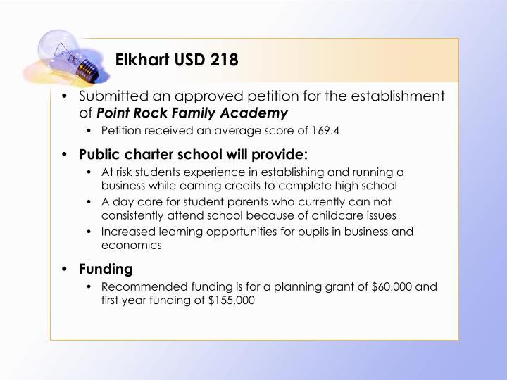 Elkhart USD 218