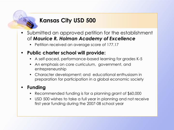 Kansas City USD 500