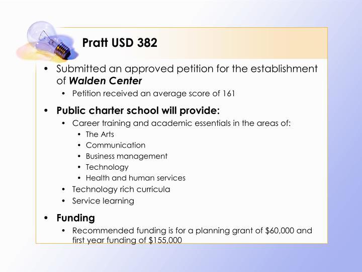 Pratt USD 382