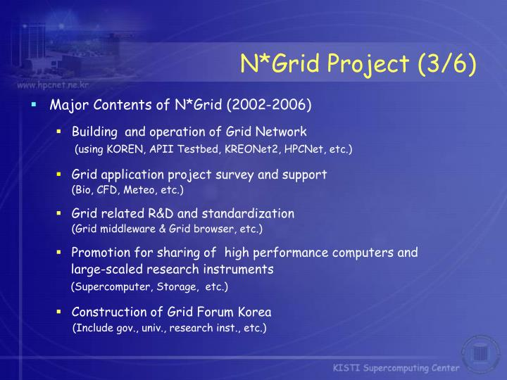N*Grid Project (3/6)
