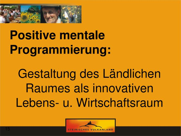 Positive mentale