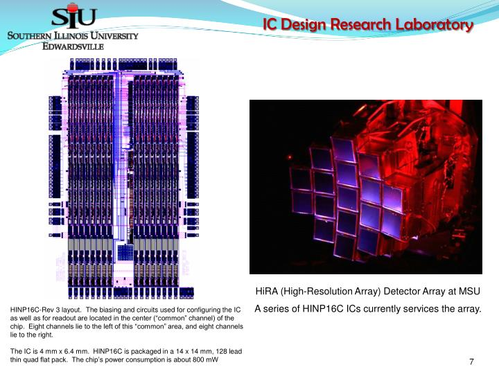 HiRA (High-Resolution Array) Detector Array at MSU