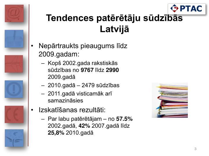 Tendences patērētāju sūdzībās Latvijā