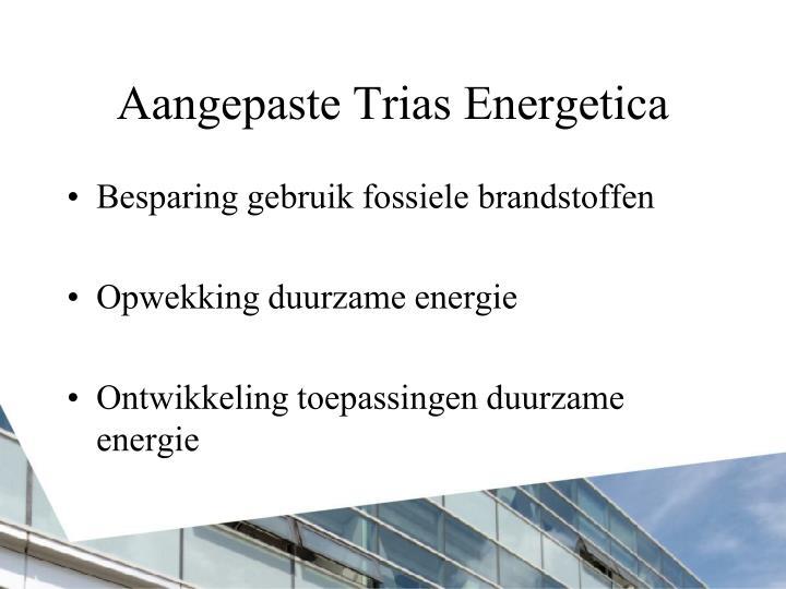 Aangepaste Trias Energetica