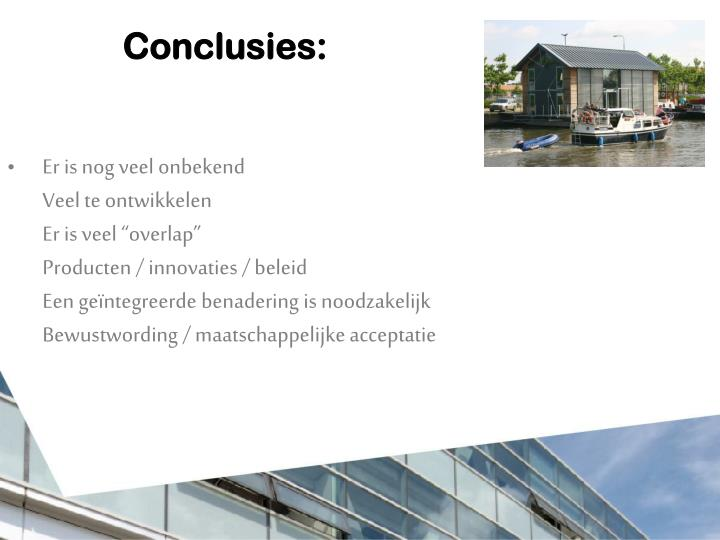 Conclusies: