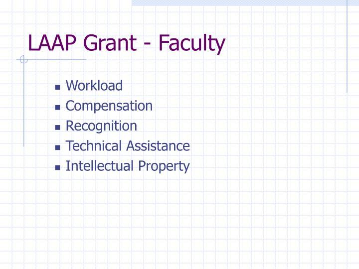 LAAP Grant - Faculty