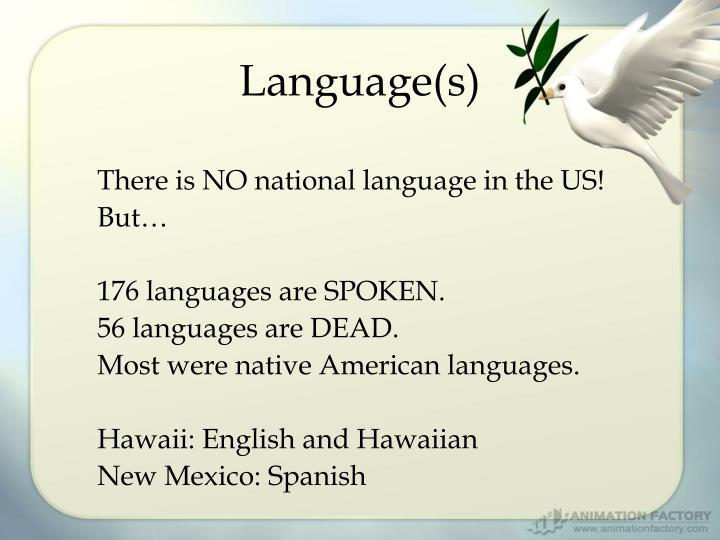 Language(s)