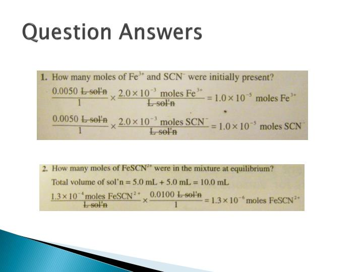Question Answers