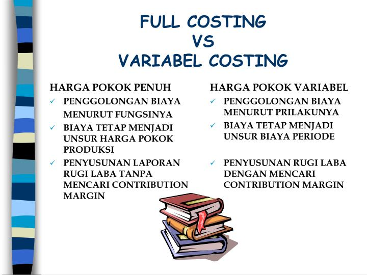 Full costing vs variabel costing