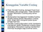 keunggulan variable costing1