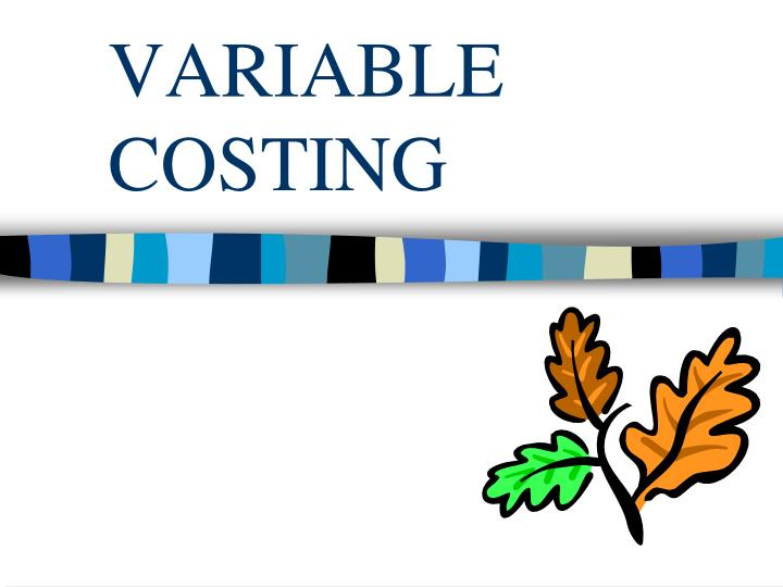 Variable costing