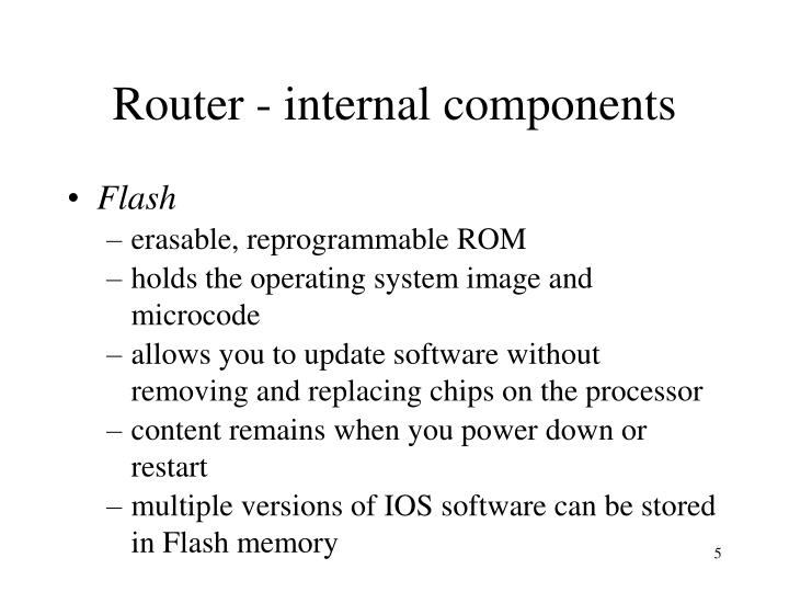 Router - internal components