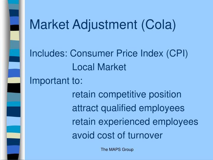 Market Adjustment (Cola)