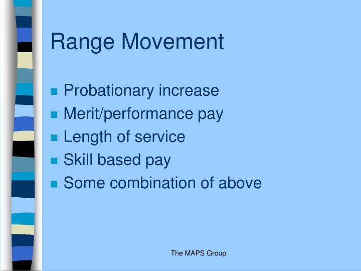 Range Movement