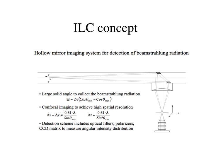 ILC concept