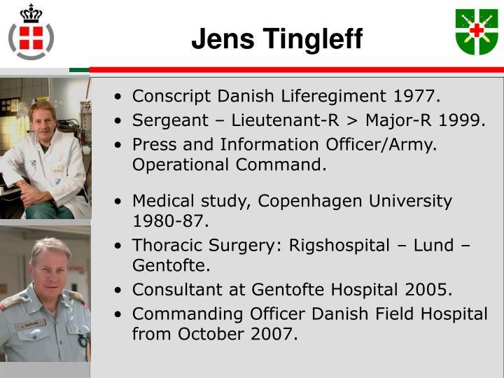 Jens Tingleff