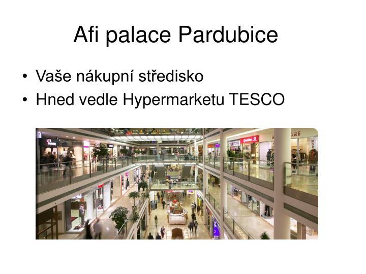 Afi palace Pardubice