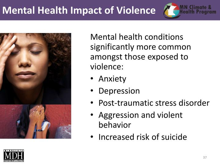 Mental Health Impact of Violence
