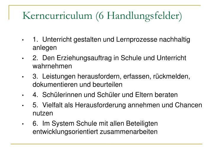 1. Unterricht gestalten und Lernprozesse nachhaltig anlegen