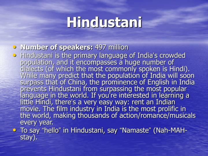 Hindustani