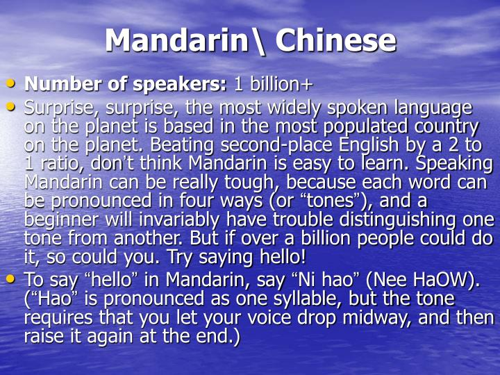 Mandarin\ Chinese