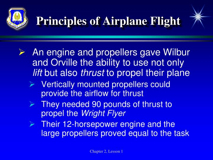 Principles of Airplane Flight