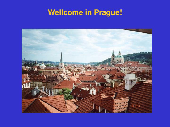 Wellcome in Prague!