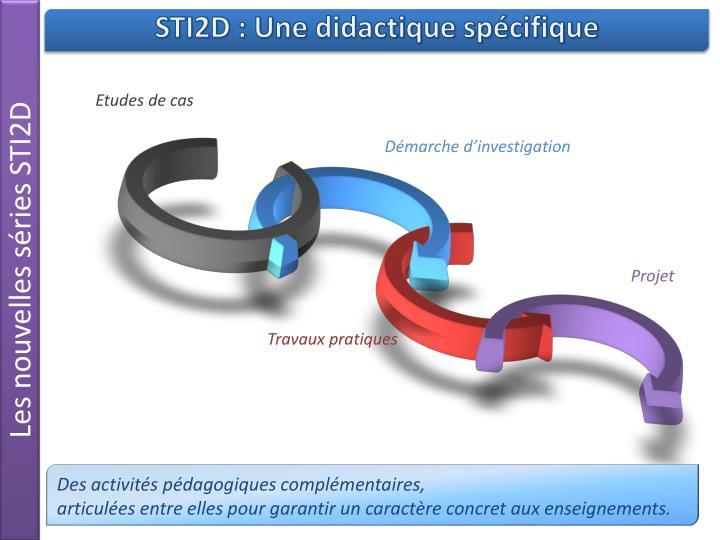 Les nouvelles séries STI2D