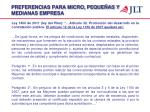 preferencias para micro peque as y medianas empresa1
