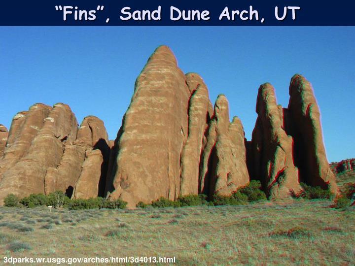 """Fins"", Sand Dune Arch, UT"