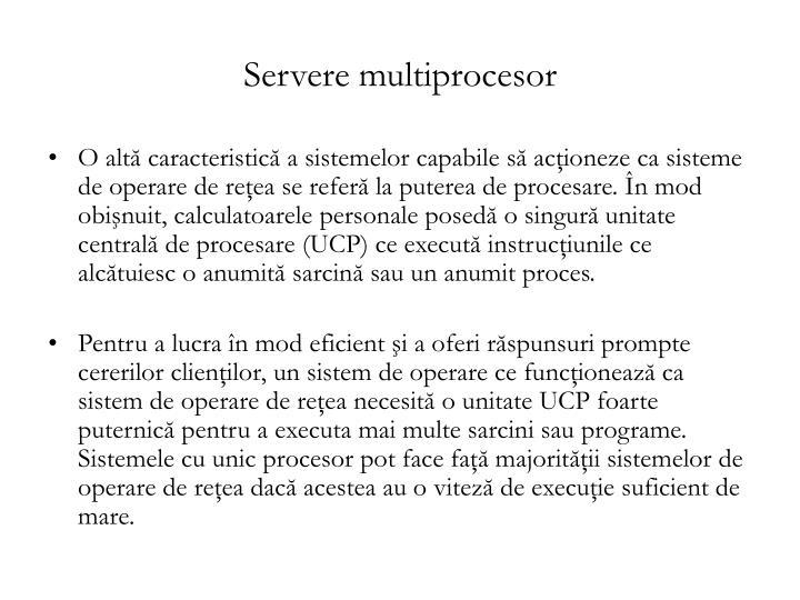 Servere multiprocesor