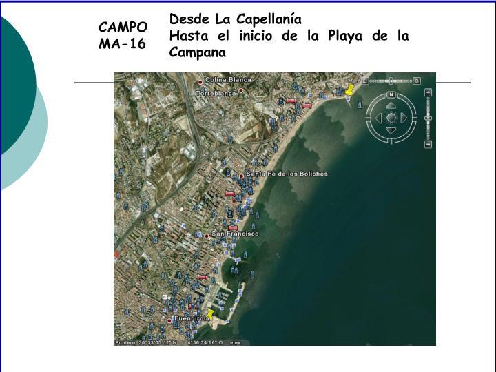 CAMPO MA-16