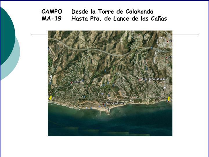 CAMPO MA-19