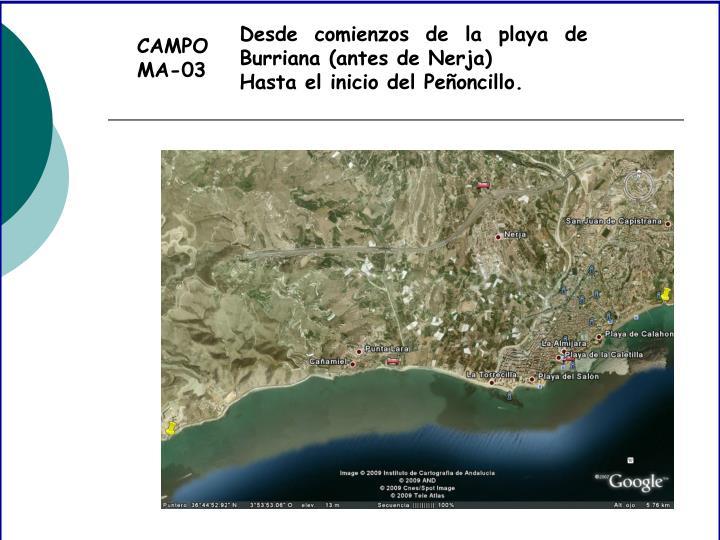 CAMPO MA-03